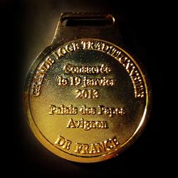 Médaille GLTF